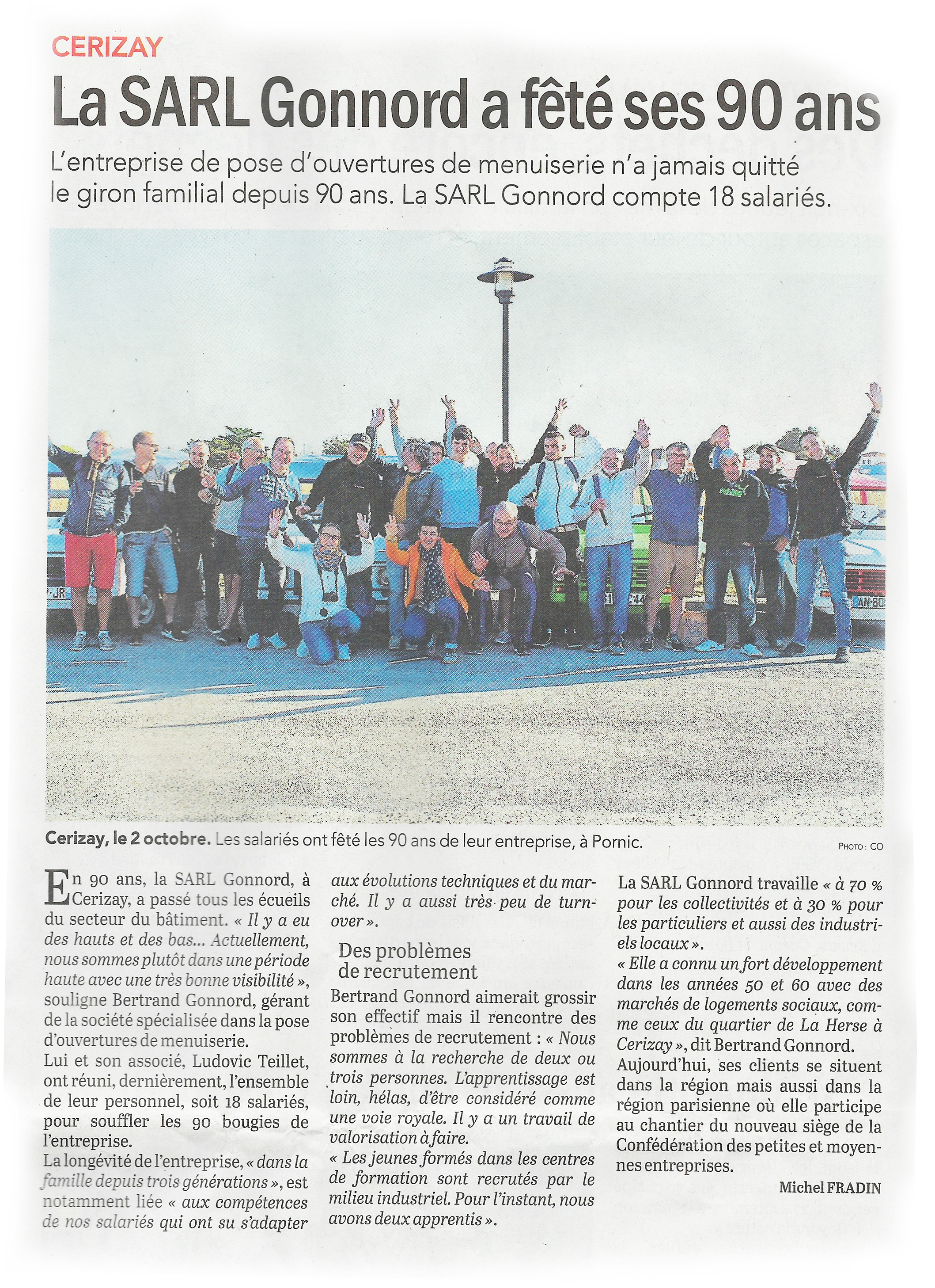 90 ans Gonnord article